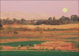 Сива - крупный оазис, расположенный в отдалении от центра страны