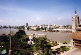 Река Чао-Прайя протекает через весь Бангкок