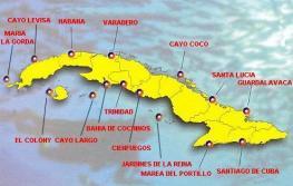 Куба - дайвинг - места погружения