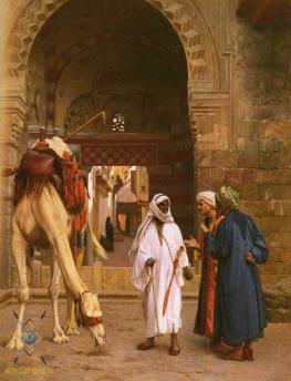 Поведение арабов..