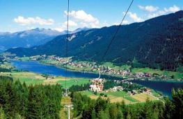 Озеро Вайсен-Зее (WeissenSee) и озеро Оссиахер-Зее (Ossiacher See)