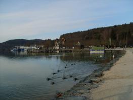Озеро Вертер-Зее (Woerther See) - Каринтия