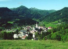 Мариацелль - Mariazell -курорт и центр паломничества
