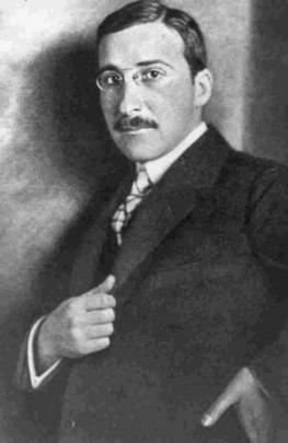 Стефан Цвейг - австрийский писатель, критик