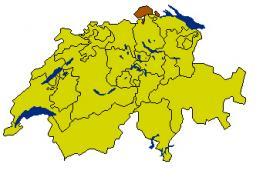 Шаффхаузен - Schaffhausen - кантон на севере Швейцарии