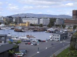 Осло - Oslo - столица и самый большой  город Норвегии