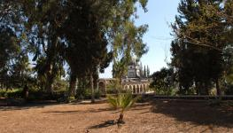 Гора Блаженств - на вершине горы Нахума