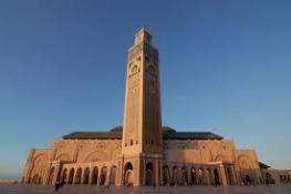 Касабланка - город в западном Марокко