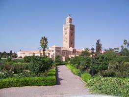 Марракеш - один из четырёх имперских городов Марокко
