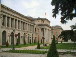 Музей Прадо - известная достопримечательность Мадрида