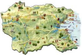 Бургас: на юго-восточной части Болгарии