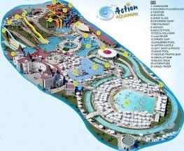 Аквапарк ACTION на Солнечном Берегу в Болгарии