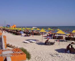 Курортный поселок Железный Порт - в Крыму