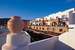 Отель Mykonos Grand Hotel & Resort de Luxe