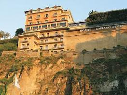Отель GRAND HOTEL AMBASCIATORI