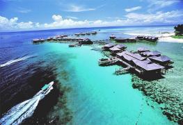 Sipadan Water Village отель