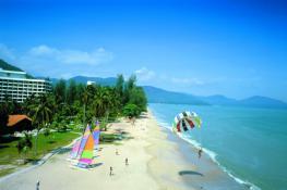 Отель Shangri La Golden Sand Resort