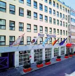 Отель BEST WESTERN HOTEL ATRIUM
