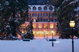 Отель Grand Hotel Quellenhof