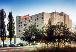 Отель Stuttgart Marriott Hotel Sindelfingen