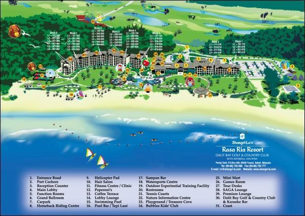 Shangri-La Rasa Ria Resort - фото -