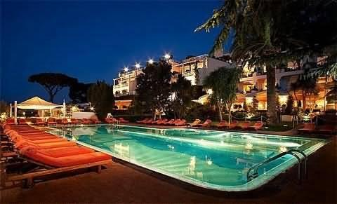 Капри Отель Capri Palace Hotel & Spa