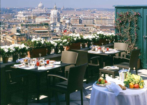 Рим Отель Hassler Roma