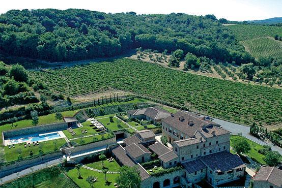 Сиена Отель Le Fontanelle - фото