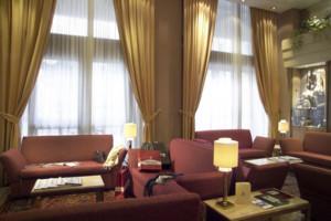 Рим - Отель President - холл