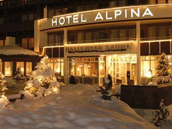 Обергургль - Отель Alpina - фото