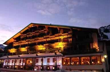 Санкт-Антон ам Арльберг - отель Отель Raffls St.Antoner Hof