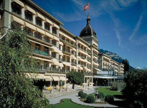 Интерлакен - Отель Victoria-Jungfrau Grand Hotel & Spa
