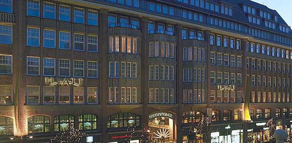 Гамбург - Отель PARK HYATT HAMBURG