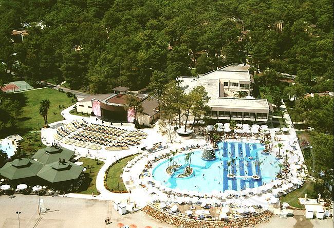 Отель Joy Park Kimeros club HV-1 - фото сверху