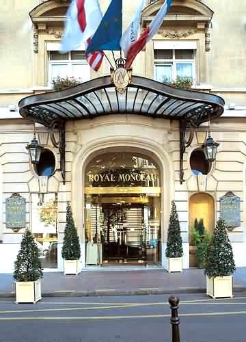 Париж отели отель le royal monceau