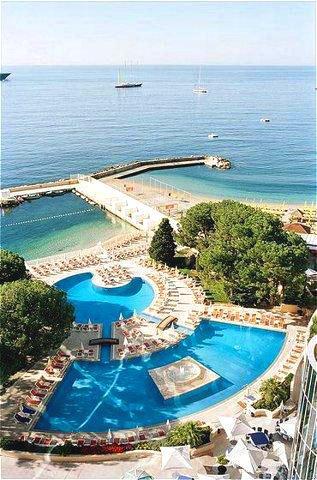 Монте-Карло: Отель Le Meridien Beach Plaza