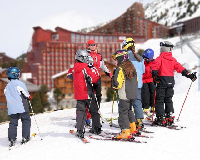 Горные лыжи Франции - Лез Арк