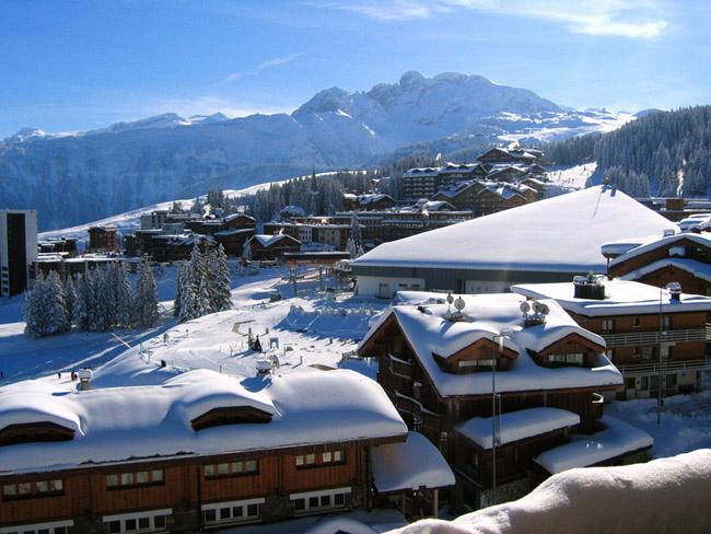 Франция, горнолыжный курорт Куршевель, фото