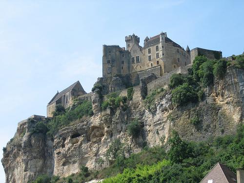Замок Бейнак (Chateau de Beynac) - замок во Франции, фото