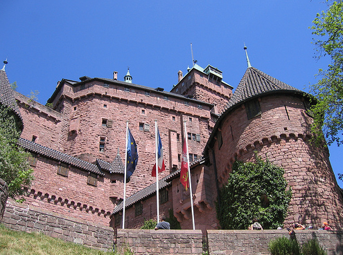 Замок Верхний Кенигсбург - фотографии