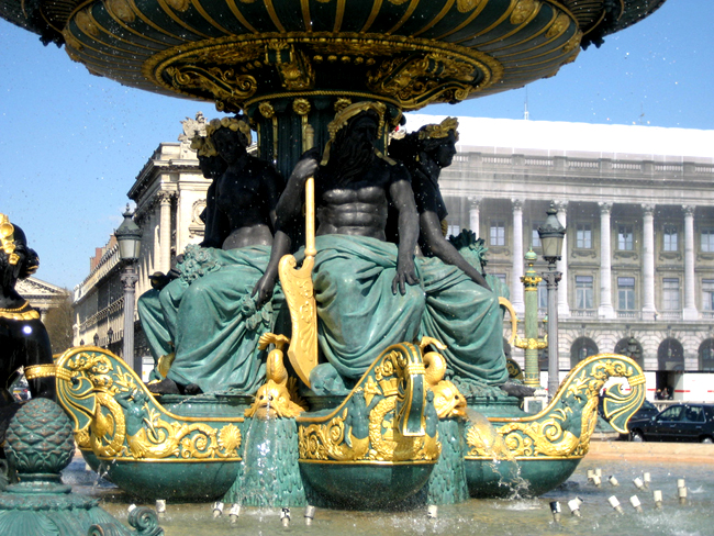 Франция - Париж - Площадь Согласия - фото