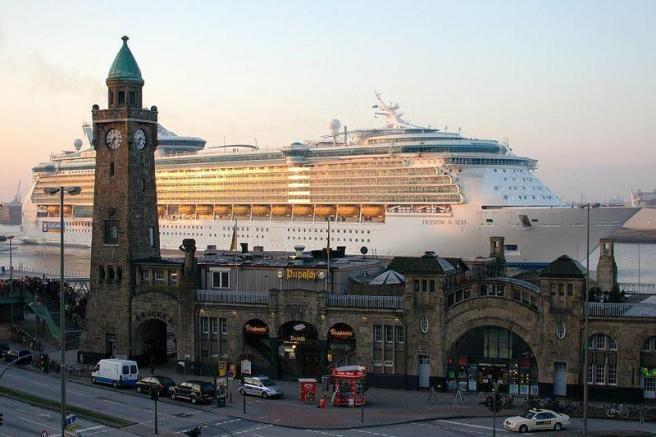 Гамбург - порт - центр