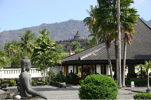 Остров Ява, Боробудур - фото - Индонезия
