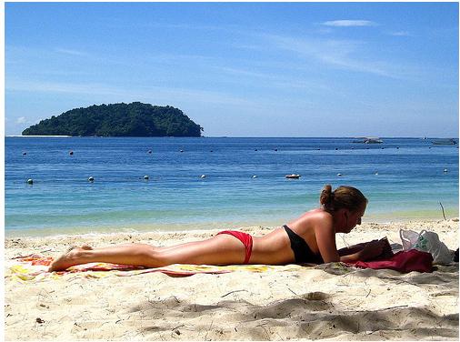 Малайзия - остров Манукан - отдых