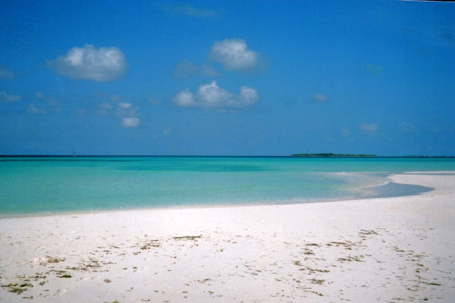 Фото берега на Мальдивах