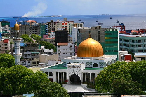 Исламский центр на Мальдивах - Мале