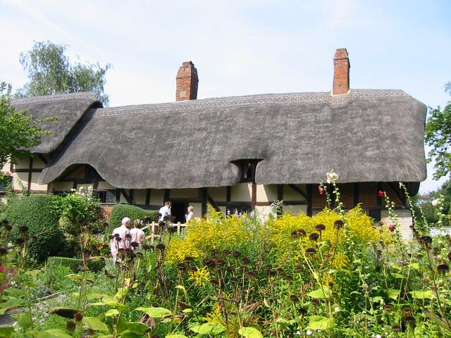 Стратфорд-он-Эйвон - родина Шекспира