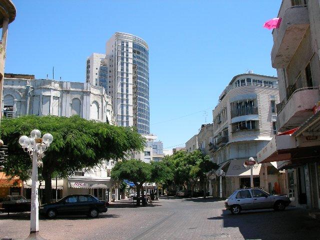 Улици города Тель-Авив
