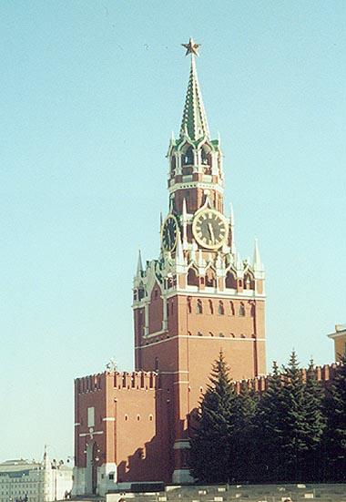 Москва - Кремль - башни