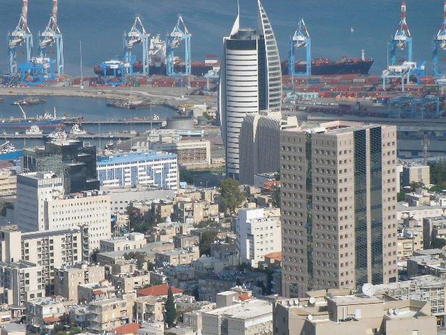 Хайфа - порт